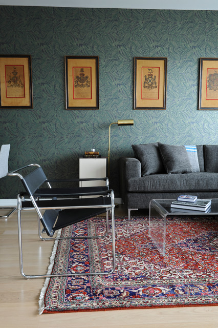 The Urban UnBachelor Pad Eclectic Living Room