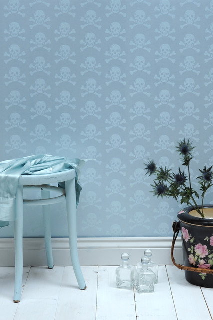 The Wallpaper Collective Installed Images Contemporary Living Room
