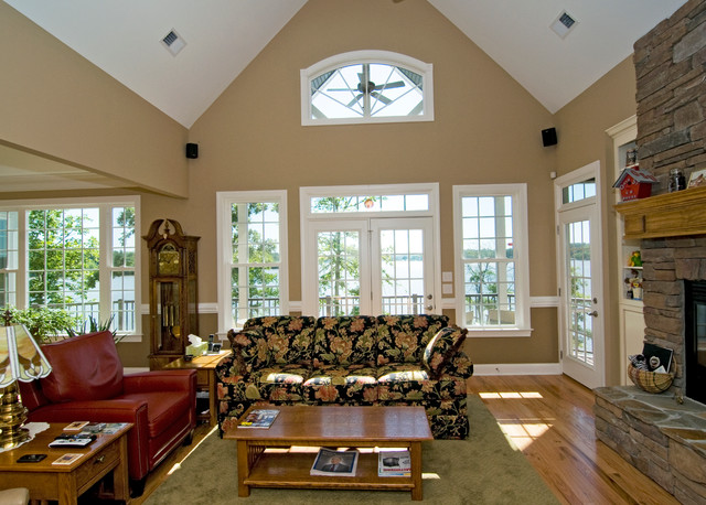 The Whitcomb - Plan #1218-D traditional-living-room