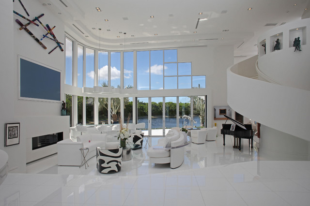 The White House Contemporary Living Room