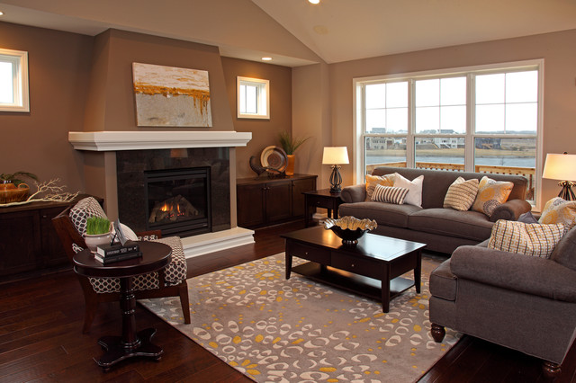 The Wildwood - Contemporary - Living Room - Minneapolis - by ...