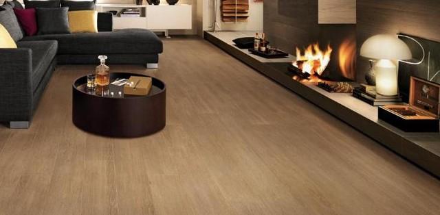 Thin Tile modern-living-room