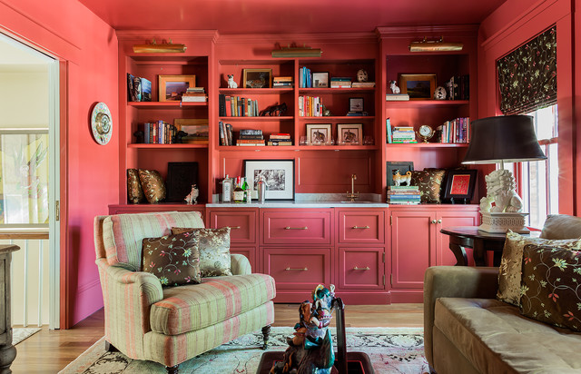 This Old House Charlestown Greek Rival Row House Traditional - Row house living room design