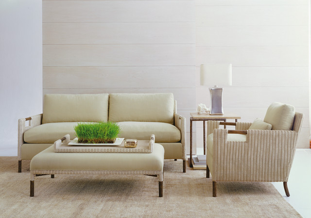 Thomas Pheasant for McGuire Furniture traditional-living-room