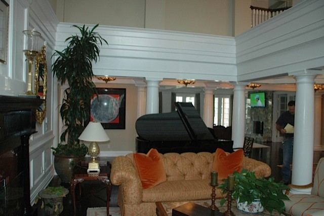 Thorson Residence traditional-living-room