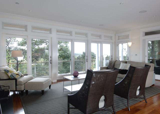 Tidal Marsh modern-living-room