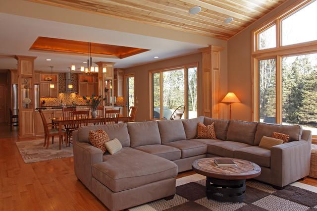 Tiffany Hanken Design - Minneapolis Interior Designer Long Lake Contemporary contemporary-living-room