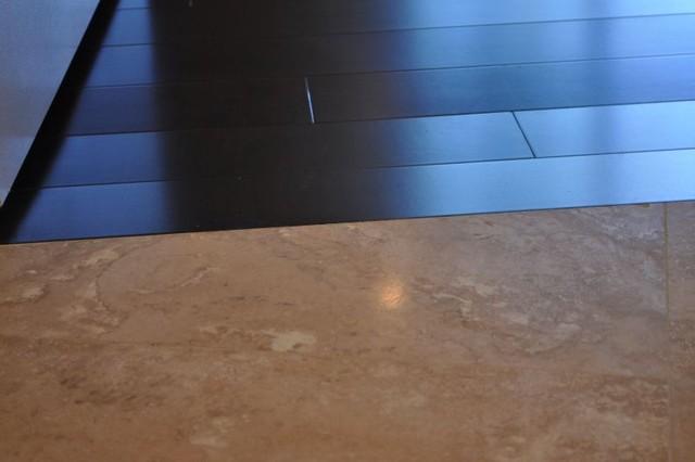Tile floors modern-living-room