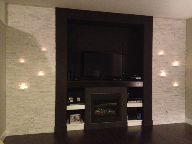 Tiles contemporary-living-room