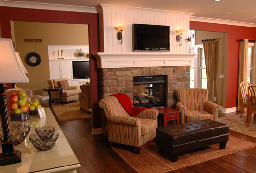 Tim Cerstrate traditional living room