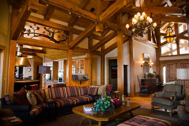 Timber Elegence traditional-living-room