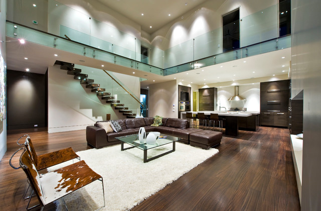 Timberhaven Homes Ltd. contemporary-living-room