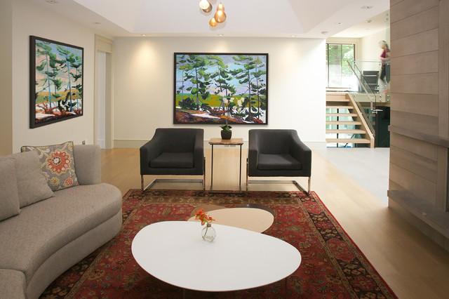 Timberlane Renovation contemporary-living-room