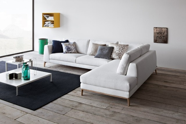 Time Sectional and Sofa - Made in Italy contemporary-family-room