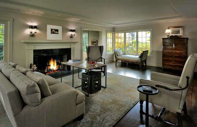 Timeless Elegance In Laurelhurst Traditional Living Room