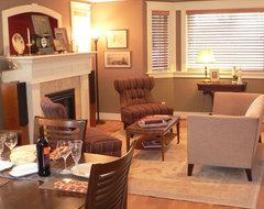 Timothy De Clue Design traditional-living-room
