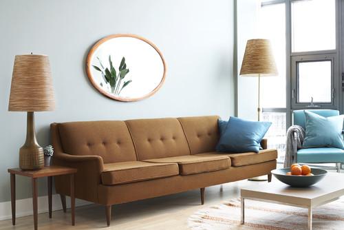 Contemporary living room by toronto photographers aristea rizakos