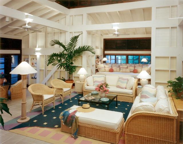 Tir Na Nog Great Room tropical-living-room