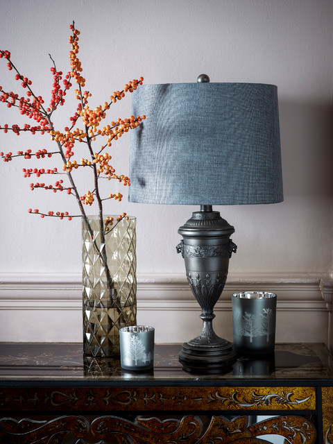 Tivoli Urn Table Lamp Traditional Living Room London By WITHIN HOME