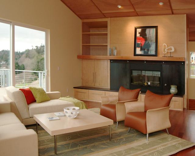 Tobin High Bluff Waterfront Remodel modern-living-room