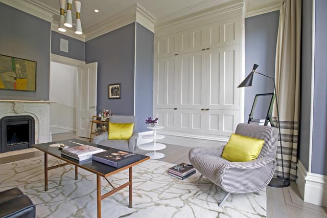 Todd Davis Architecture modern-living-room