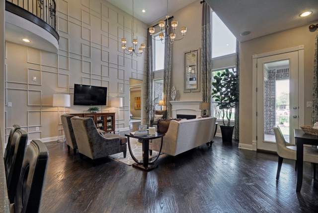Toll Brothers Plano TX Model Contemporary Dallas By
