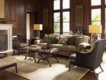 Charmant Tommy Bahama Home Royal Kahala Traditional Living Room