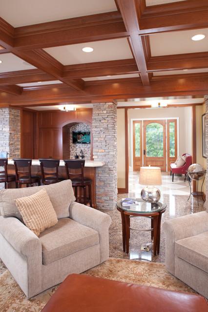 Tonka Bay (Lake Minnetonka) Addition traditional-living-room