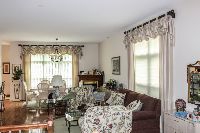 Top Treatments Traditional Living Room Cincinnati By Exciting Windows