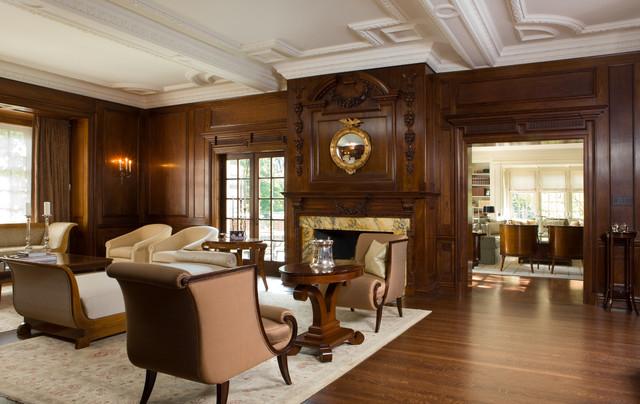 Toronto Restoration Traditional Living Room Other