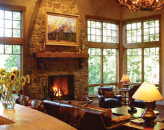 Town & Country traditional-living-room