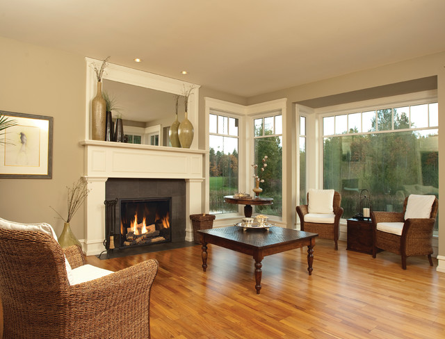 Town & Country - Traditional - Living Room - sacramento - by Rustic Fire Place