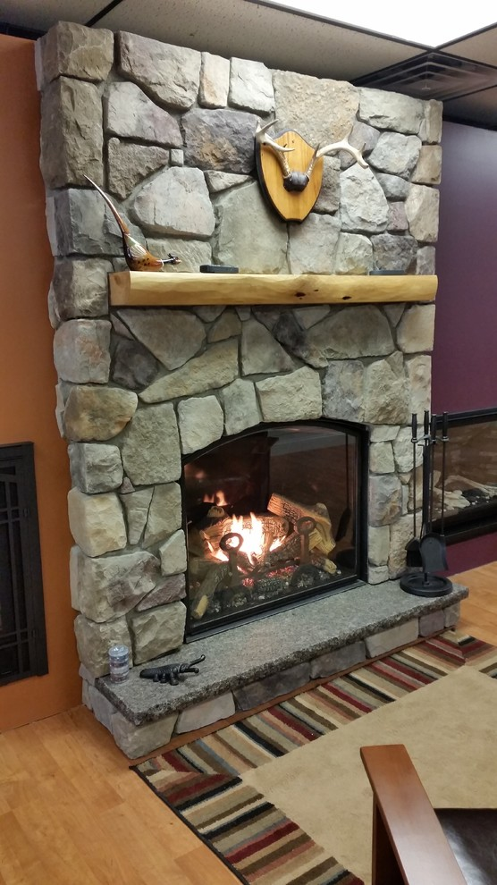Town & Country TC36 Arch Gas Fireplace - Rustic - Living ...