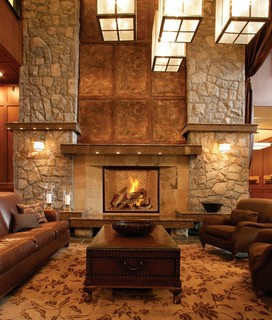 town country tc54 gas fireplace traditional living