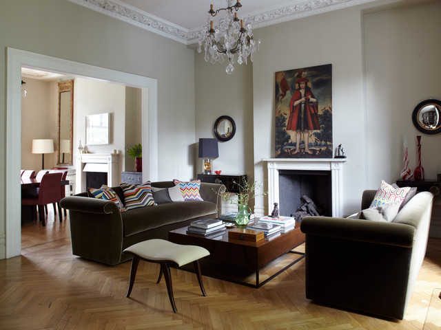 Town House - London SW1 traditional-living-room