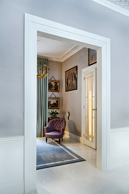 Townhouse central london traditional living room for Interior designers central london