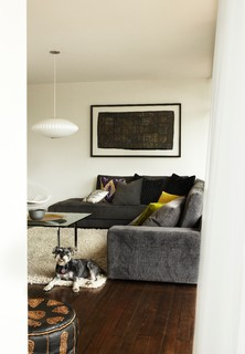 Tracie Ellis 39 Home Midcentury Living Room Melbourne By Sharyn Cairns
