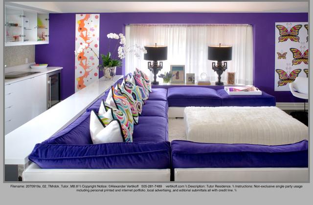 Tracy Murdock eclectic-living-room