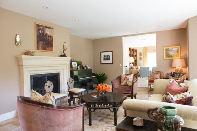 Traditional cottage in pasadena traditional living for The family room pasadena