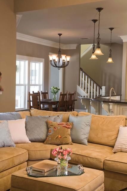 Traditional Custom Home 2 traditional-living-room