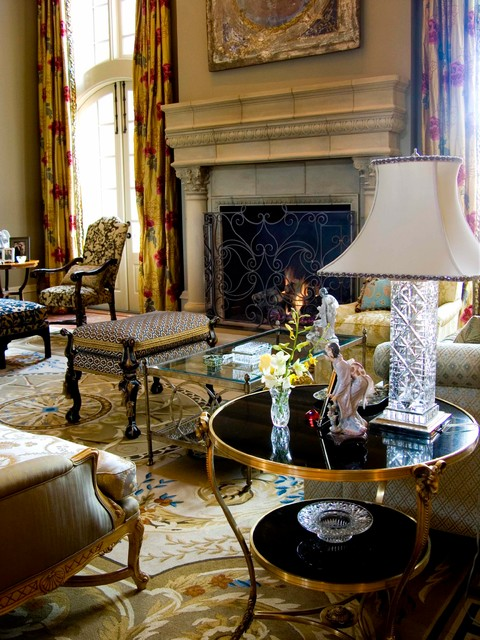 Traditional estate eclectic living room dallas by for Traditional eclectic living rooms
