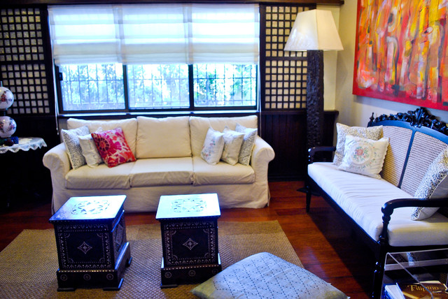 Traditional filipino residence - Small space living room designs philippines ...