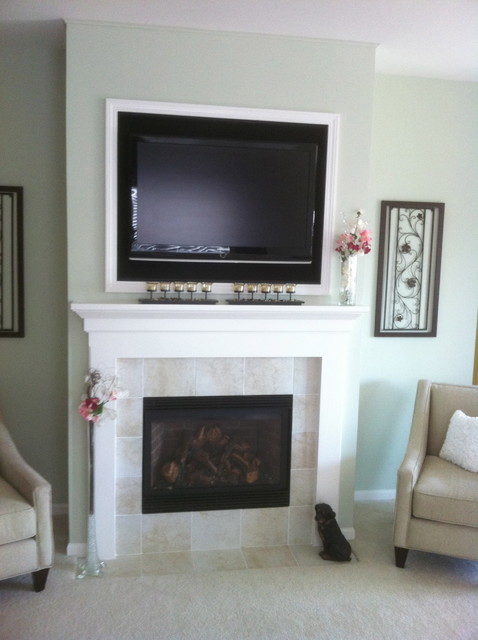 Traditional Fireplace Traditional Indoor Fireplaces Chicago By