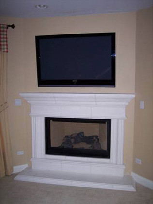Traditional Fireplace traditional