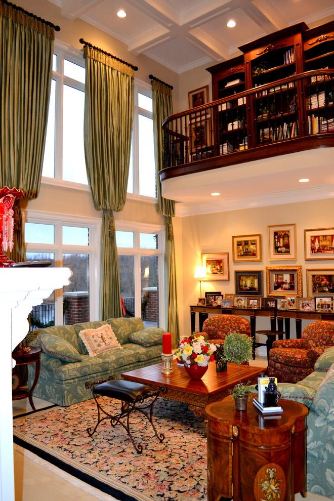 Classic Living Rooms Interior Design: Traditional Interior Design