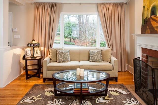 Traditional Interior Renovation - North Buckhead traditional-living-room
