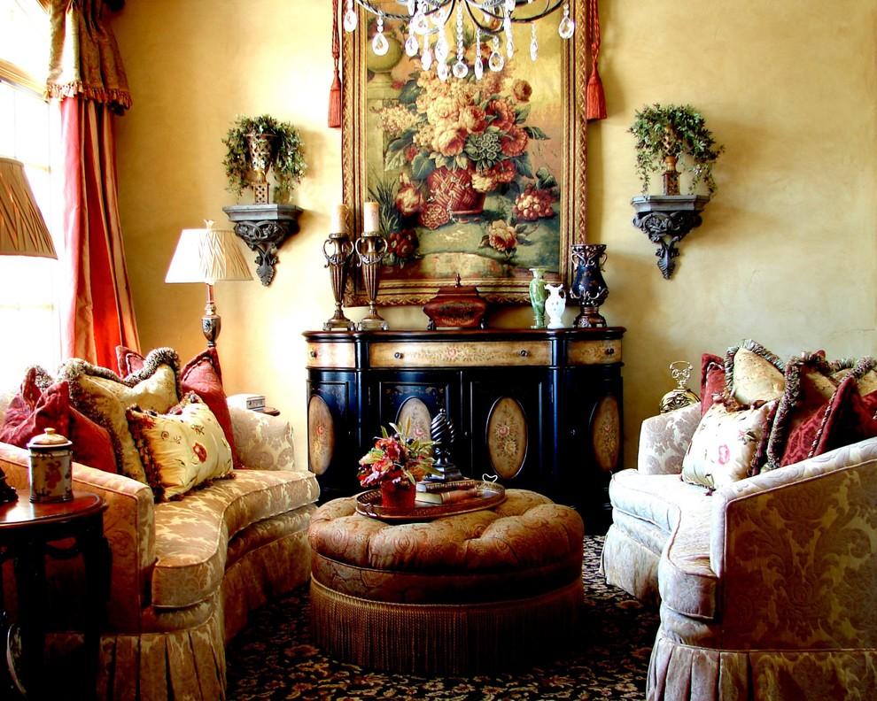 Elegant formal living room photo in Salt Lake City