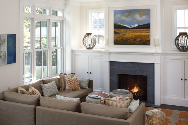 "Mill Valley ""home Sweet home"" traditional-living-room"