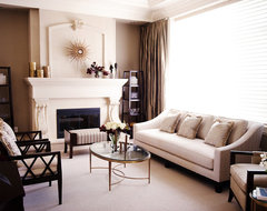 refined traditional traditional living room