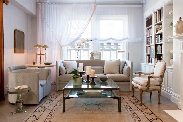 Park Avenue traditional-living-room